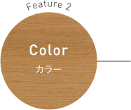 Feature 2 Color カラー